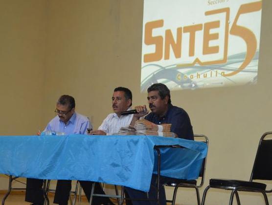 Apoyará SNTE amparos contra pago de ISR en Coahuila