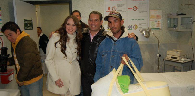 Es Mía, primer ciudadana del 2014 en Ramos Arizpe