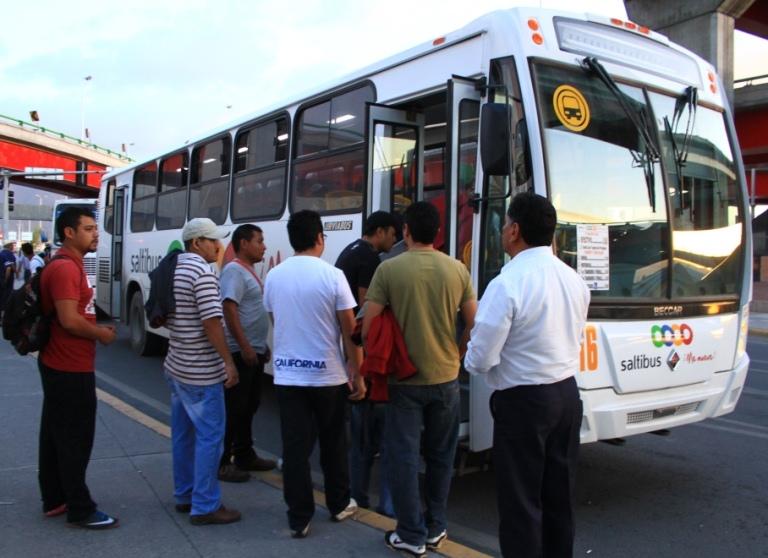 Implementarán en Saltillo tarifa única de transporte por día