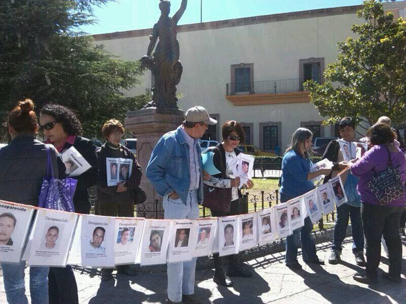Rompe FUUNDEC con el Estado para la búsqueda de desaparecidos