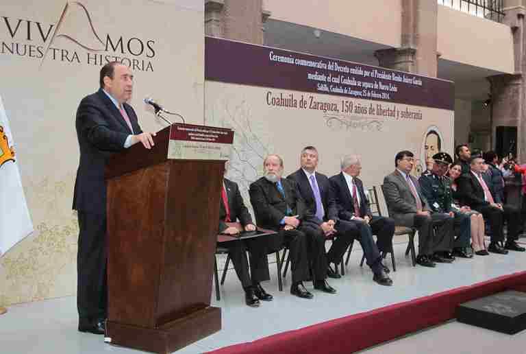Conmemoran 150 Aniversario del Decreto de libertad y soberanía