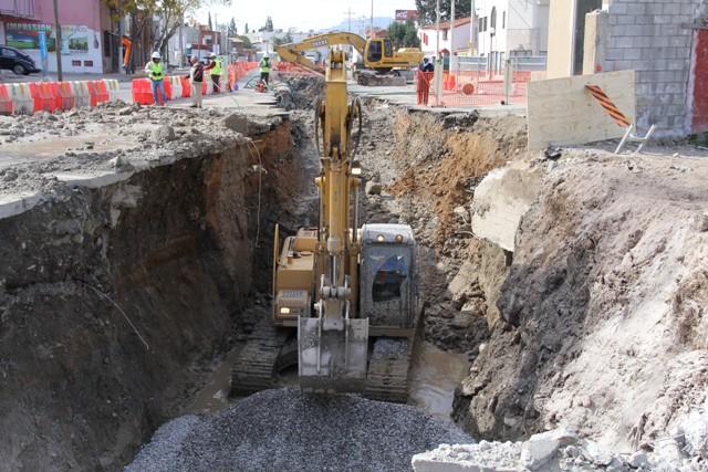 Advierten afectación en vialidades por obras en LEA y Abasolo