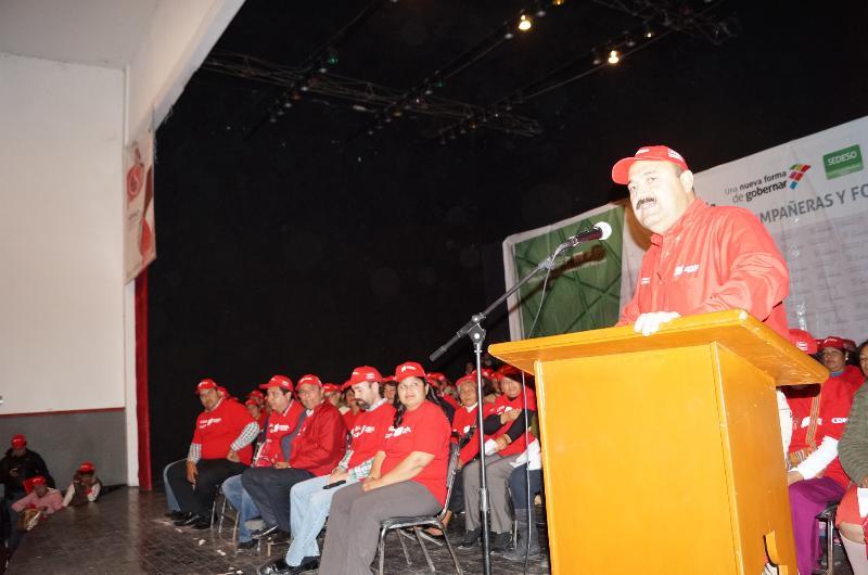 Activan en San Pedro comités de Acción Social