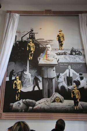 Modificar murales en Congreso violaría derechos de autor