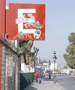 Buscarán sanciones contra el graffiti