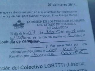 Demandan ante la CDHEC al Municipio de Saltillo por discriminación