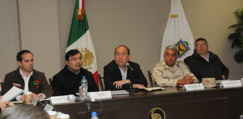 Encabeza Rubén Moireira reunión de seguridad en Piedras Negras