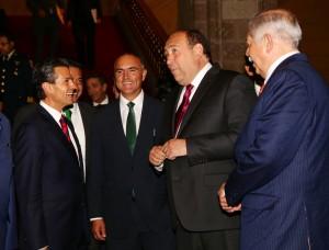 Reconoce Peña Nieto mejoría en la seguridad de Coahuila