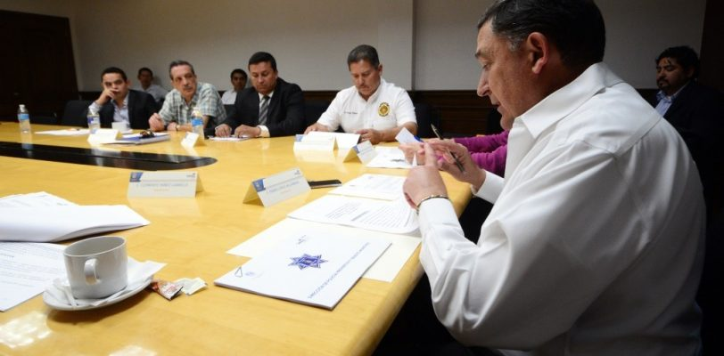 Instalan Consejo de Seguridad Pública de Saltillo