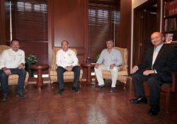 Se reúne Gobernador con alcalde de Monclova