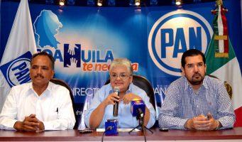 Apoyan legisladores del PAN Coahuila contrarreforma fiscal