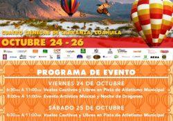 Asombra Festival del Globo de Cuatro Ciénegas
