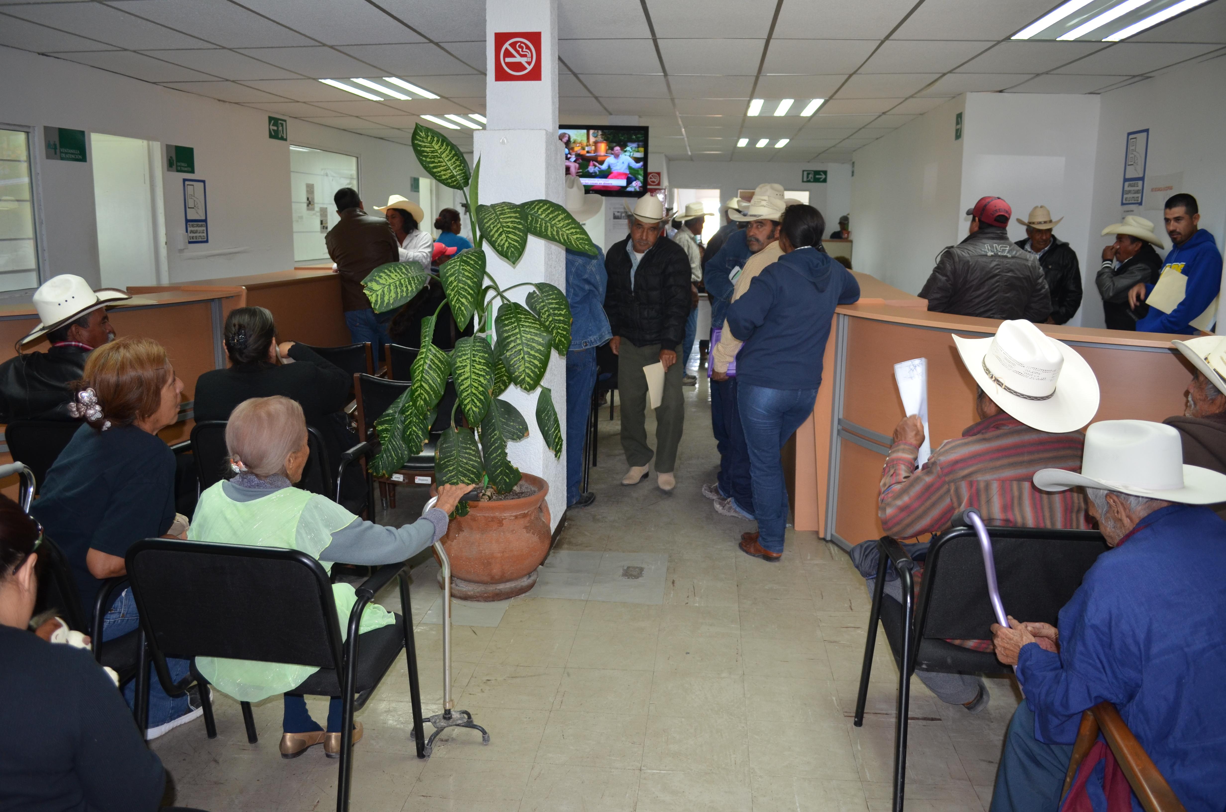 Niegan servicio en SAGARPA Coahuila por falta de sistema