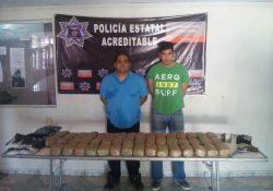Detienen a funcionario de la CDHEC con 45 paquetes de droga