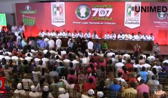 Renuncia David Aguillón a la dirigencia del PRI, se integra al gabinete estatal