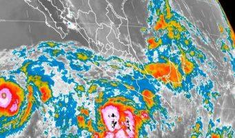 Se forma 'Blanca', segunda tormenta del Pacífico