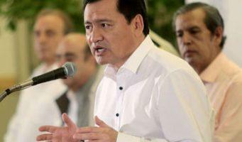Hay mejora en índices de violencia, insiste Osorio Chong