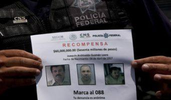 Gobierno de EU confía en recaptura de 'El Chapo'