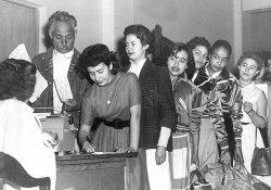 Seis décadas de voto femenino