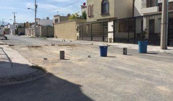 Reporte de calle cerrada Ramos Arizpe