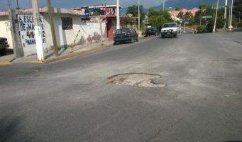 Reporte de bache en Colonia Burócratas del estado