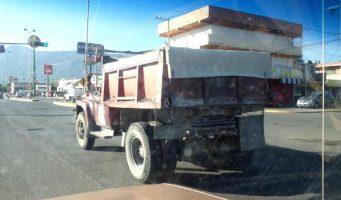 Reporte de camión en malas condiciones