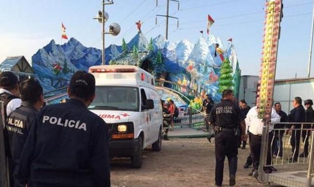 Menor se amputa dedos en juego de Expo Feria Saltillo, hay 13 lesionados