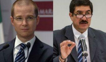 Anaya y Corral obtienen registro para presidencia nacional del PAN