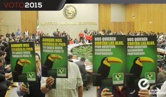 El Partido Verde suma nuevas multas por 20 mdp