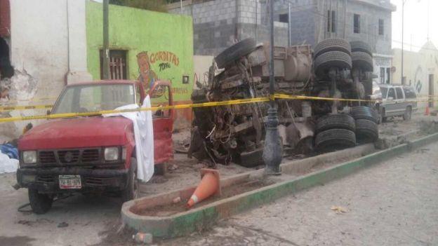 Lamenta Gobernador accidente en Mazapil