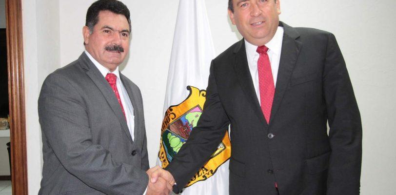 Remueve gobernador a Noé Garza de su cargo, asume Alfio Vega