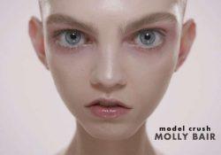 Molly Bair, una modelo fuera de lo común