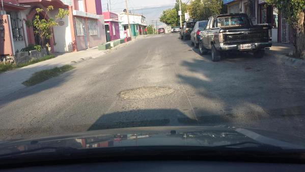 Reporte de baches Colonia Chapultepec