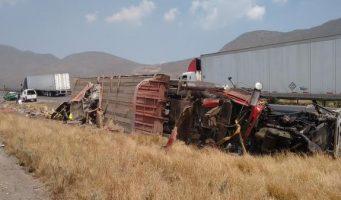 Reportan accidente carretera Monterrey – Saltillo