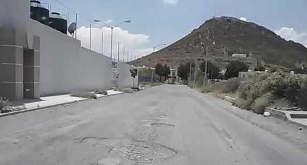 Reporte de baches en Ramos Arizpe