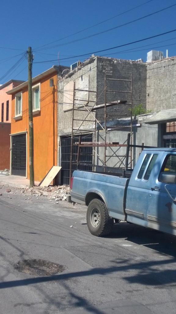 Demolición sin medidas de seguridad y precaución