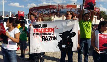 Protestan en corrida de toros organizada a beneficio de damnificados