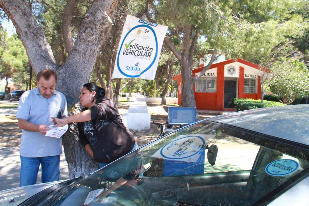 Informa Ecología cambio temporal en centros de verificación vehicular
