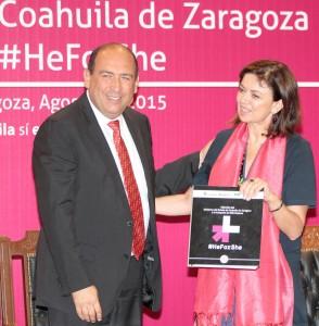 RMV Adhesión del Gobierno del Estado de Coahuila de Zaragoza a la Campaña #HE FOR SHE 31