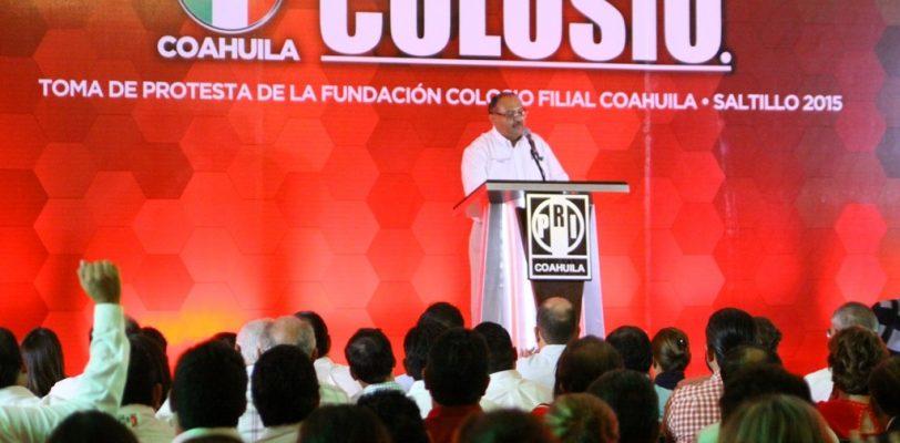 Los oportunistas o mesiánicos no tienen cabida en el PRI: David Aguillón