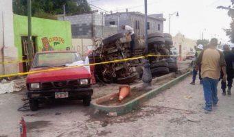 Buscan a chofer que arrolló a peregrinos en Zacatecas