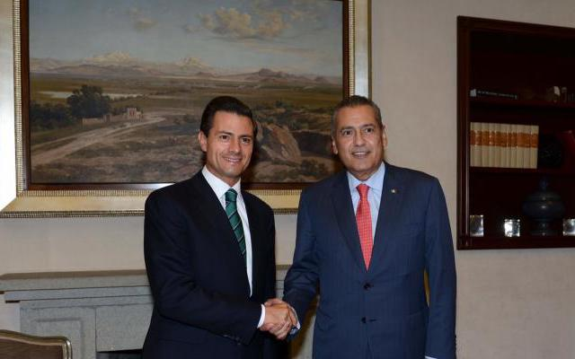 Se reúne Peña Nieto con Beltrones