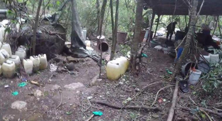 La Semar desmantela dos narcolaboratorios en Sinaloa
