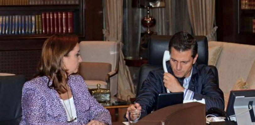 Presidente egipcio se comunica con Peña Nieto