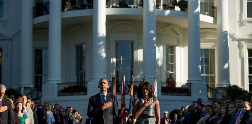 Minuto de silencio por aniversario del 11-S