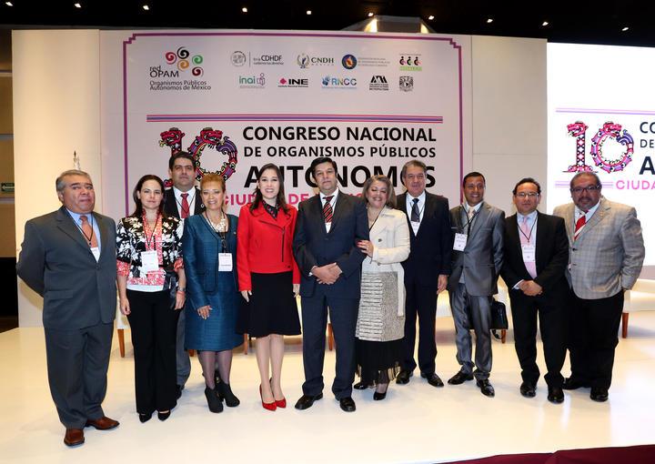 ICAI participa en el décimo Congreso Nacional de Organismos Públicos Autónomos de México