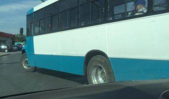 Reporte a ruta de transporte público