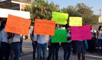 Conflicto en CBTis de San Pedro obliga a cerrar la escuela
