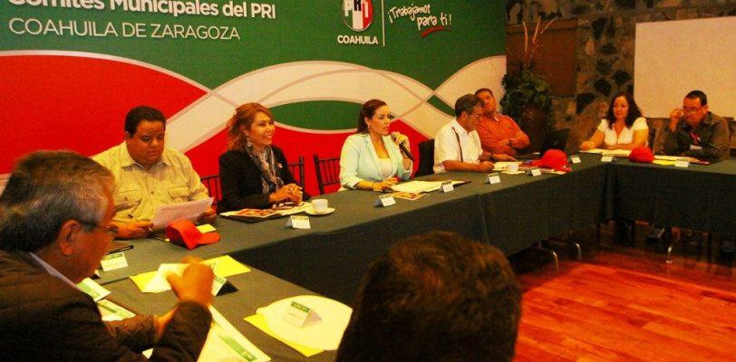 Realiza el PRI Coahuila encuentro estatal de comités municipales