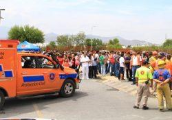 Prepara Saltillo 440 simulacros de emergencia